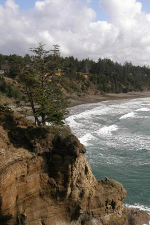 Devils Punchbowl State Natural Area: This is the Northern end of the Otter Crest/Devil's Punchbowl.  What a scene!