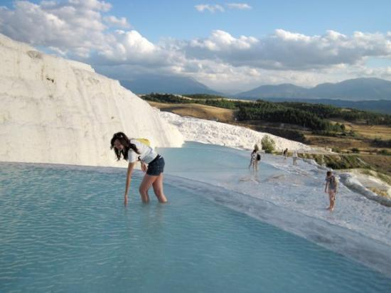 Pamukkale Thermal Pools: People have bathed in these thermal springs for thousands of years