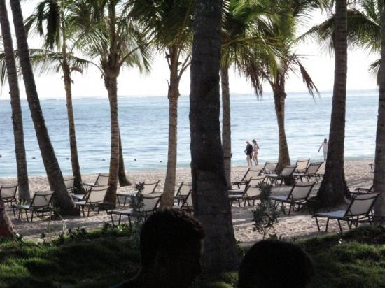 Secrets Royal Beach Punta Cana: vista desde el restaurante del hotel
