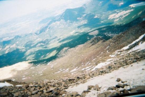 Bilde fra Pikes Peak