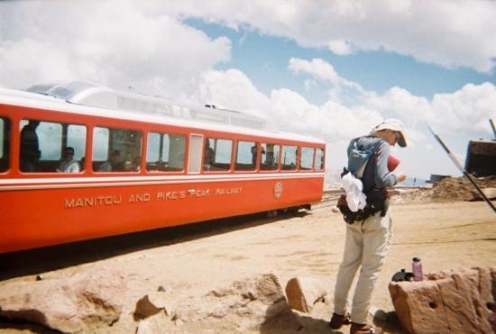 Bilde fra Pikes Peak Cog Railway