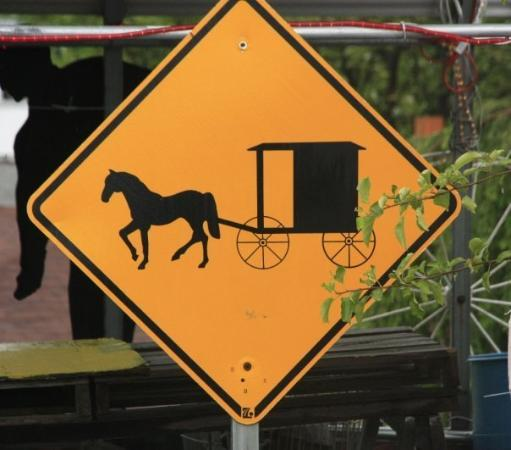 Lancaster, PA: Love livin in Pennsylvania,  Have to know what this sign means to pass the driving teat.