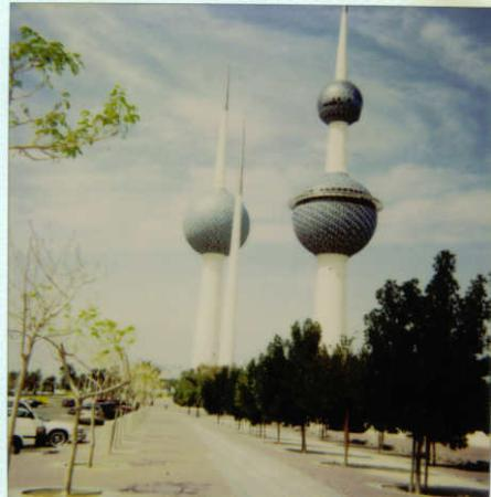 Kuwait (by), Kuwait: The Kuwaiti Towers.