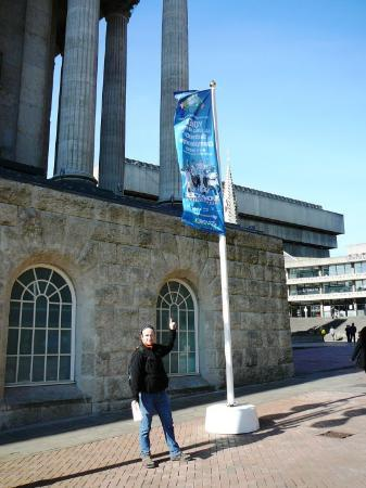 Birmingham, UK: upoutávka na Victoria square