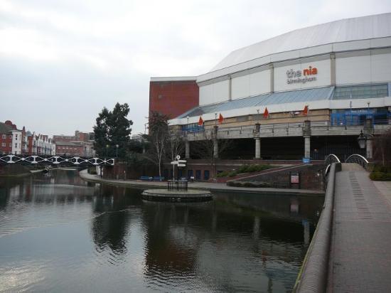 Birmingham, UK: okolí NIA