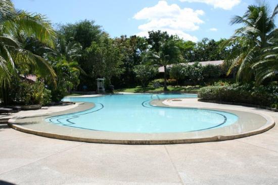 Cebu White Sands Resort & Spa: Tja, rent majestätisk pol. De som designat polerna här vet vad dom gör.