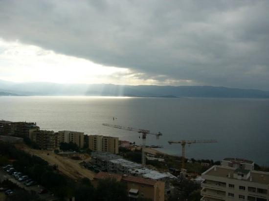 View of Porticcio from Ajaccio