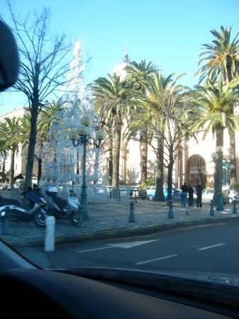 Ajaccio, La place des Palmiers
