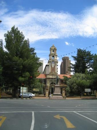 Bloemfontein, Sør-Afrika: Down town Bloemforntein