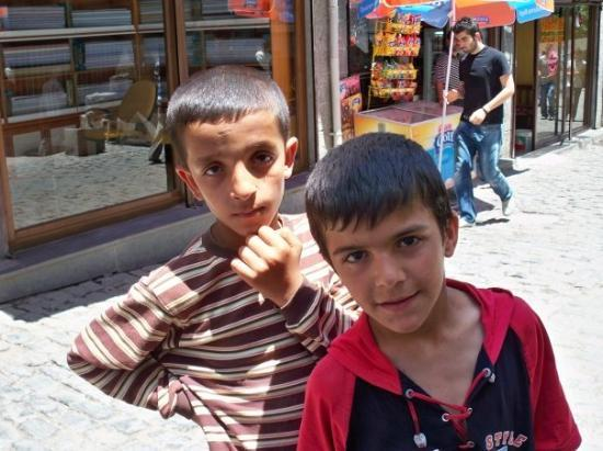 Diyarbakir, Turkey: Our tour guides for the day.