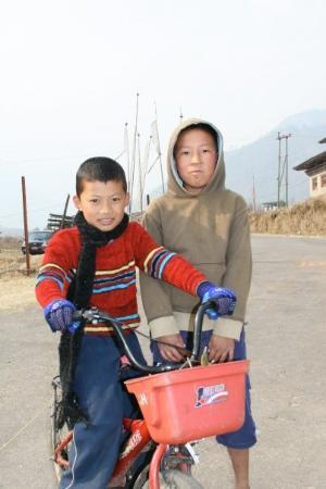 Paro, Bhutan: something about this reminds me of 3 ninjas