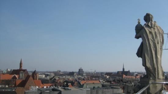 Wroclaw University: Desde la cúpula