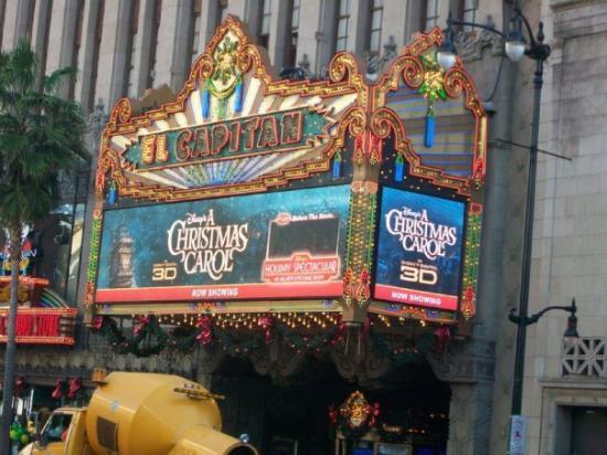 Bilde fra El Capitan Theatre