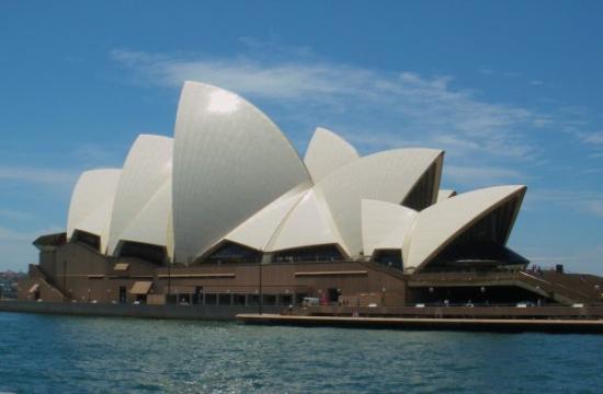 Sydney Opera House-Sydney Harbor- Sydney Austrailia-Dec 2008