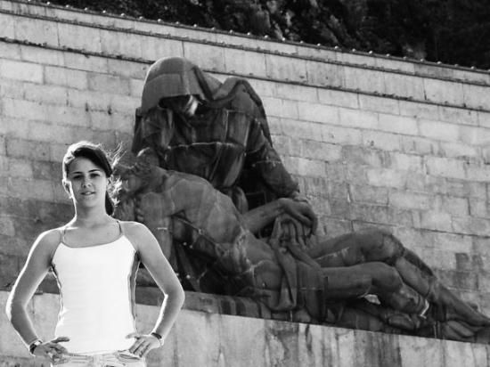 San Lorenzo de El Escorial, Espagne : En el Valle de los Caídos (2) - hace unos añitos xD