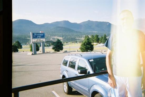 Arriving at Estes Park, CO