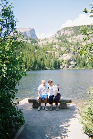Estes Park, CO: We took the short trail around Bear Lake in the Park.