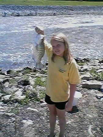 Horn Lake, Μισισιπής: Courtnee's first fish