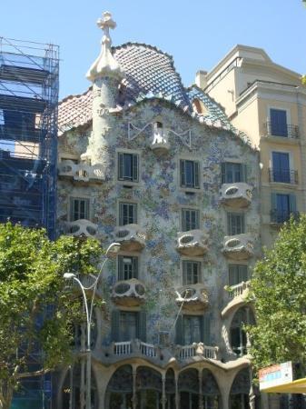 Casa Batllo: Casa Battló by Gaudí (2) por la mañana