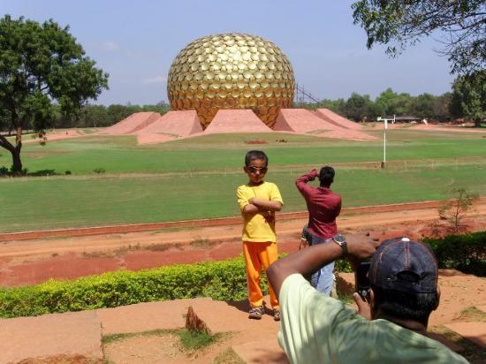 Pondicherry, India: Auroville...