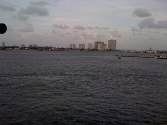 Fort Lauderdale, FL: Departure View Ft. Lauderdale