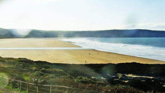 Woolacombe, UK: Our beach