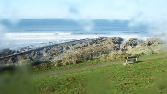 Woolacombe, UK: First view from the van, good morning Devon =)