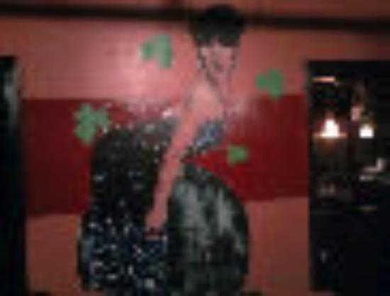 "Wall Mural of The Empress of Savannah - ""The Doll - Lady Chablis"""