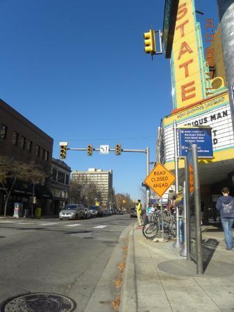 Ann Arbor, MI: State Street, AA, MI
