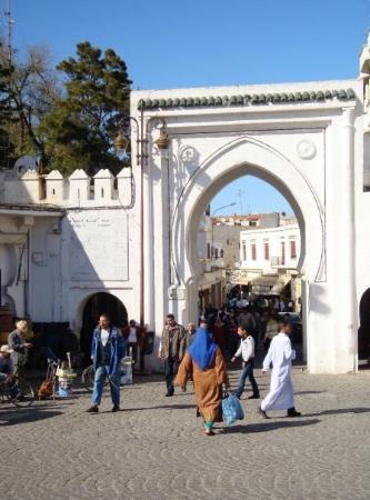 Medina of Tangier: entrance into the medina, Tangier