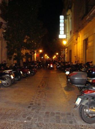 Málaga, Spania: That's a lot of motorcycles!