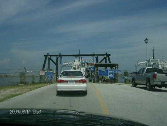 Cape Canaveral, FL: waiting to load on the ferry to go for a nice ride