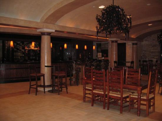 Santa Rosa, CA: Ferrari-Carano Vineyard Reserve tasting room 2.26.10