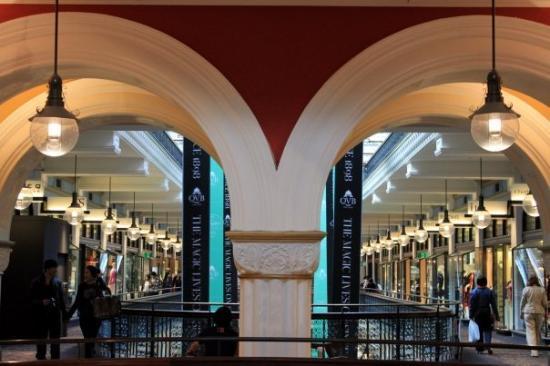 Bilde fra Queen Victoria Building (QVB)