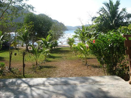 Majika's Island Resort: view from the dining hall of Majika