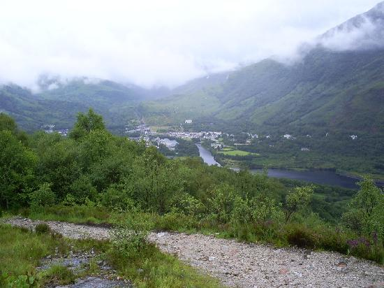 West Highland Way: leaving Kinlochleven