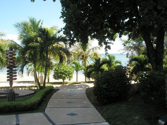 LUX* Grand Gaube: Paths along the beach