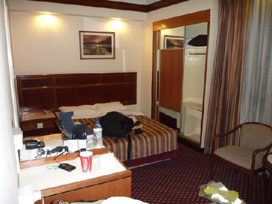 Hotel Grand Central: Basic and dated room - 411