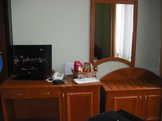 Baross City Hotel: Our room