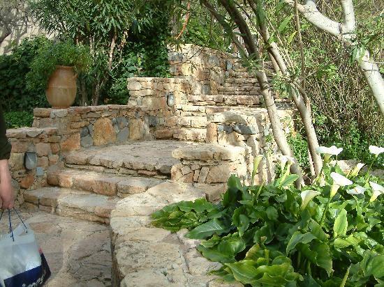 Imouzzer des Ida Outanane, Morocco: romantiek in de tuin van het hotel
