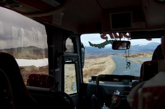Day Tours Unplugged: View from the bus