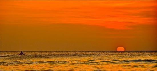 Point Break Surf School: Sunset at Playa Grande