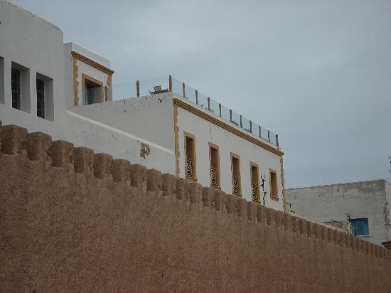 Villa de l'O: terrasse