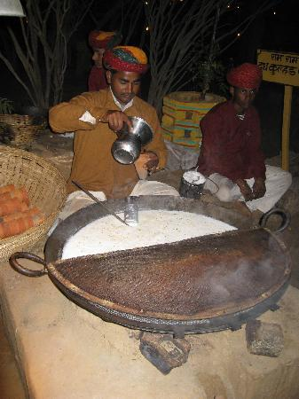 Chokhi Dhani Village: Milk based drink