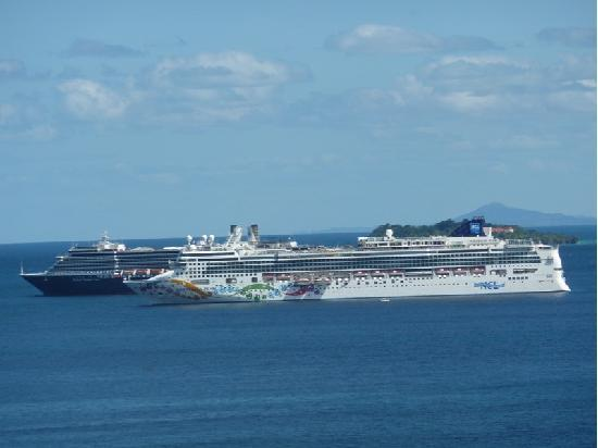 Grand Bahia Principe Cayacoa: ocean liners