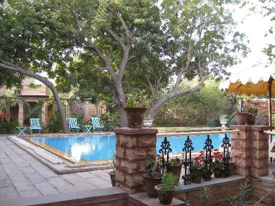 Devi Bhawan: The swimming pool