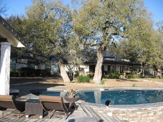 Paniolo Ranch Bed & Breakfast Spa: POOL AND MAIN HOUSE