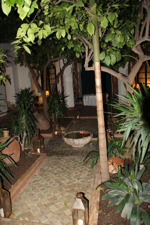 Riyad El Cadi: main garden