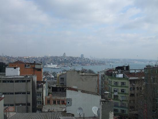 Hotel Ipek Palas: View from the 6th Floor retaurant
