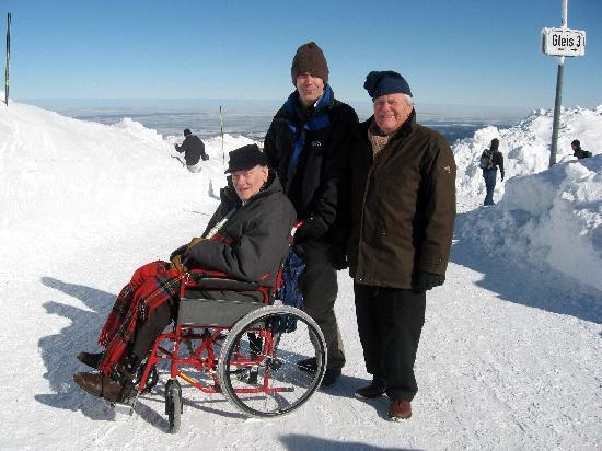 Kaufmannshof Ferienwohnungen: Yes - you can get a wheelchair up here!!